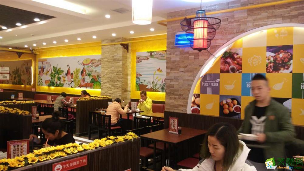 西安快餐店裝修設計圖