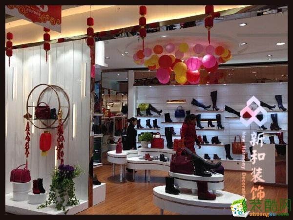 成都新和装饰-工装380平米鞋店装修案例