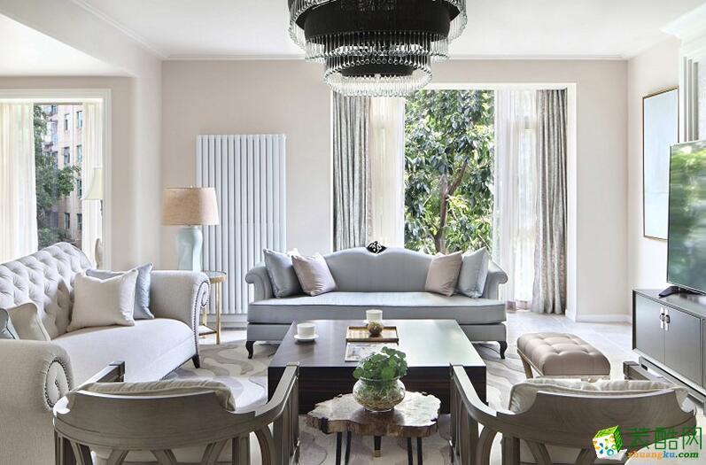 成都实创装饰-混搭风格330平米别墅装修案例