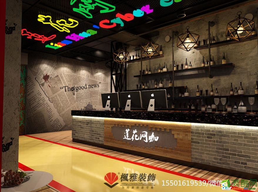 莲花网咖网吧设计、专业网咖设计