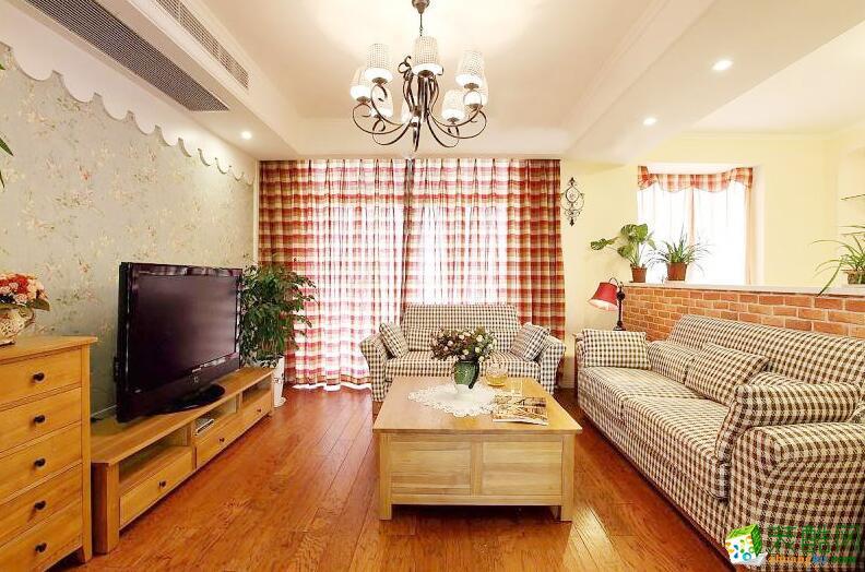 大筑装饰-田园风格两居室80平米装修案例