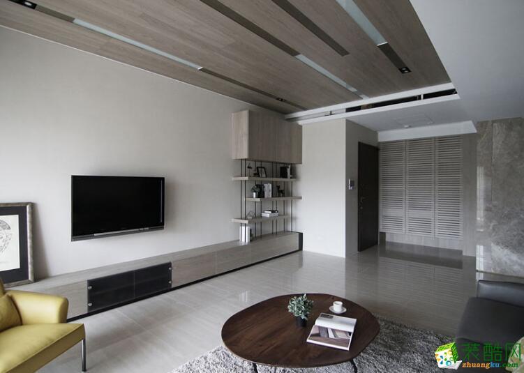 成都美家堂装饰-时尚风格一室两厅50平米装修案例