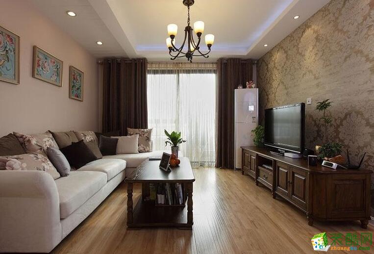 成都绿源空间装饰-简约风格100平米跃层住宅装修案例图