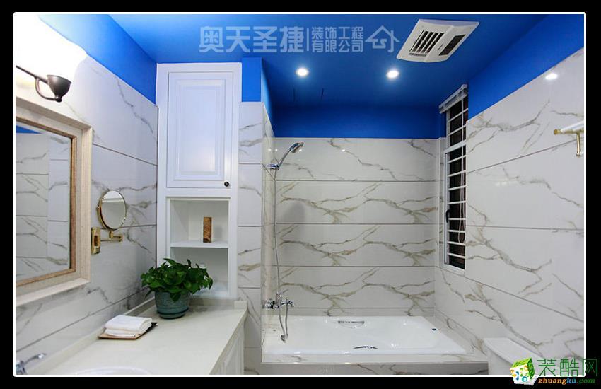 奥天圣捷―145�O三室一厅混搭风格装修案例
