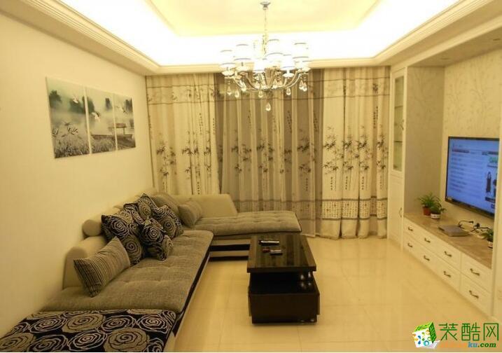 成都天伦美装饰-三居室131平米装修案例图