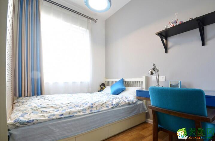 成都良美装饰-92平米北欧风格两居室装修案例图