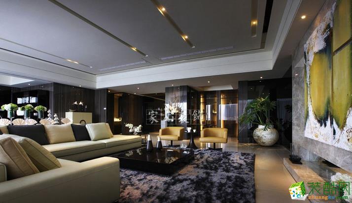 家山装饰-150平大户型现代风装修设计样板间