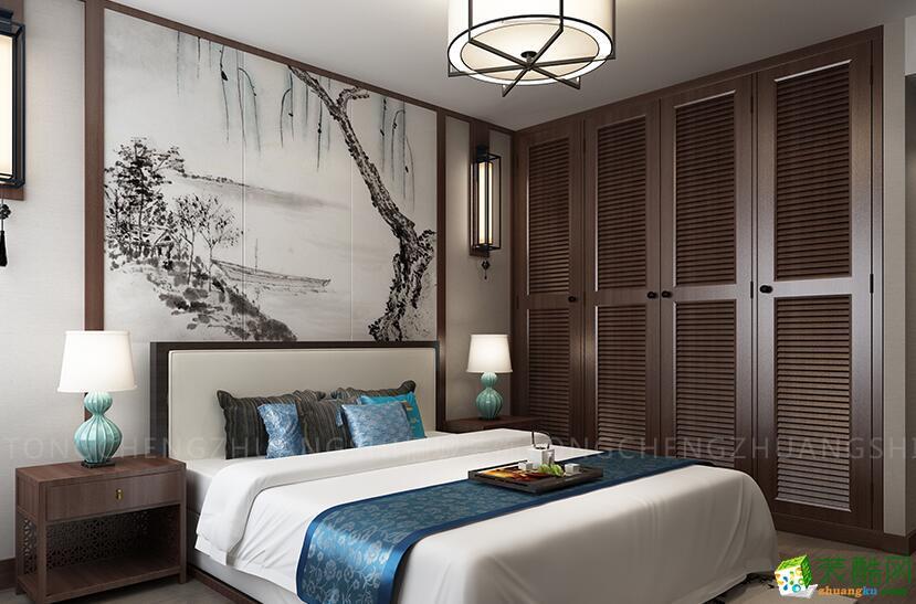 西安桐城装饰-170平中式装修效果图