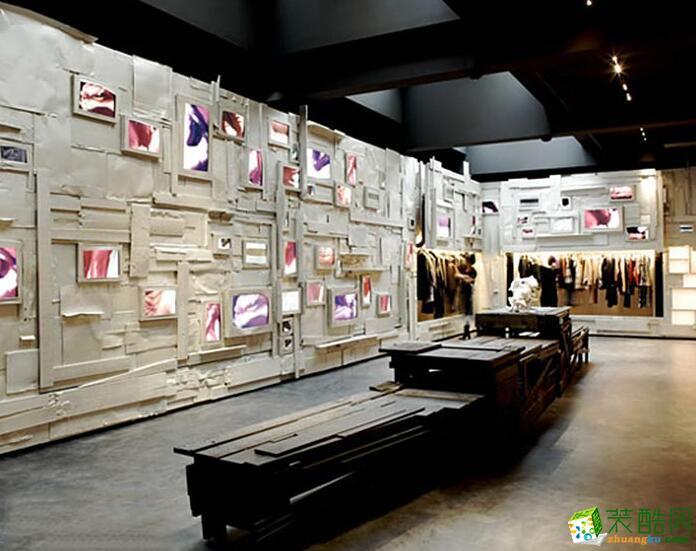 西安景邦装饰-500平服装店装修效果图