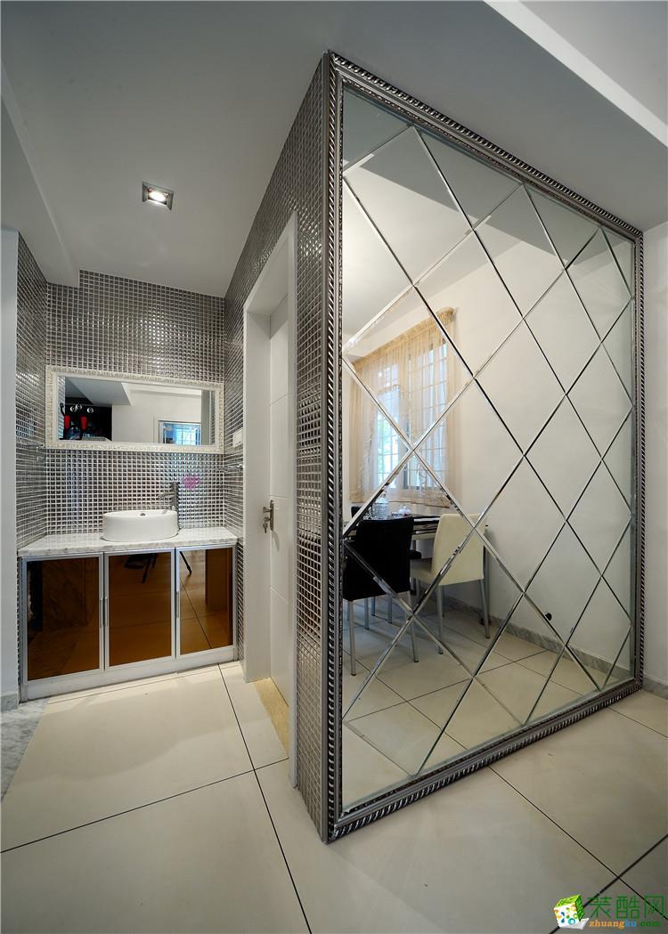 金庭装饰―120平米现代风格装修案例图