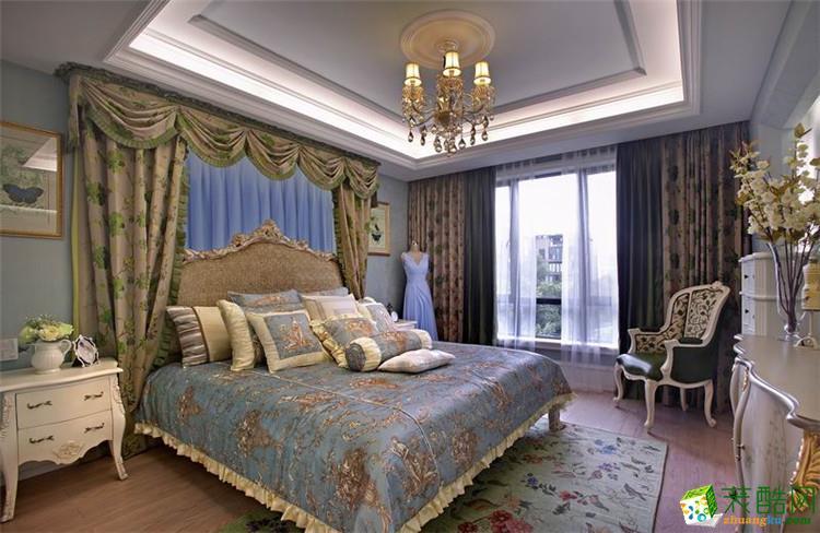 金庭装饰―270平米美式风格别墅装修效果图