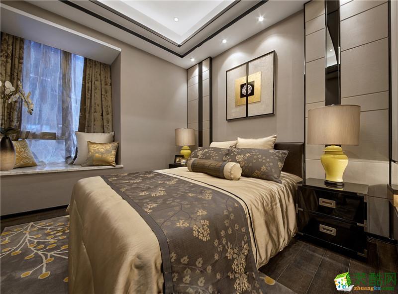 金庭装饰―中式风格120平米三室一厅装修案例图