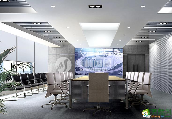 维利国德装饰-1620平现代风格办公室装修效果图