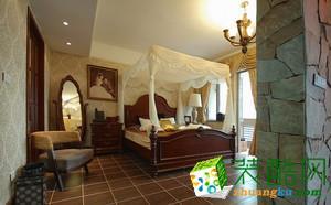 -美式风格120平米三居室装修案例