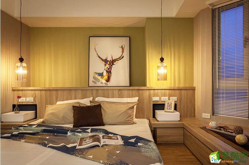 亿安居装饰-北欧风格两居室90平米装修案例图