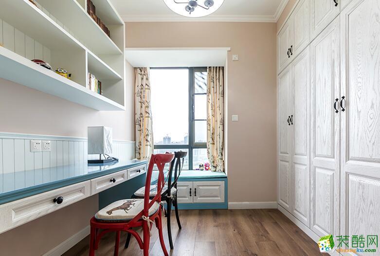>> 慕尚装饰-93平米混搭风格三居室装修案例图图片