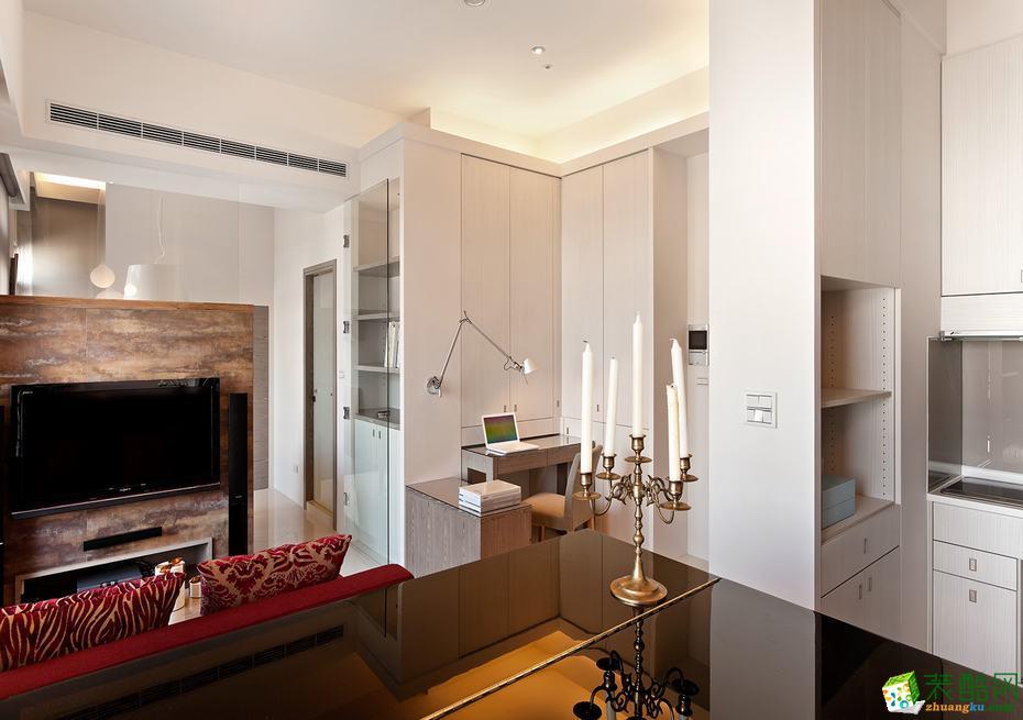 锦尚装饰―95平米两室一厅现代简约风格装修效果图