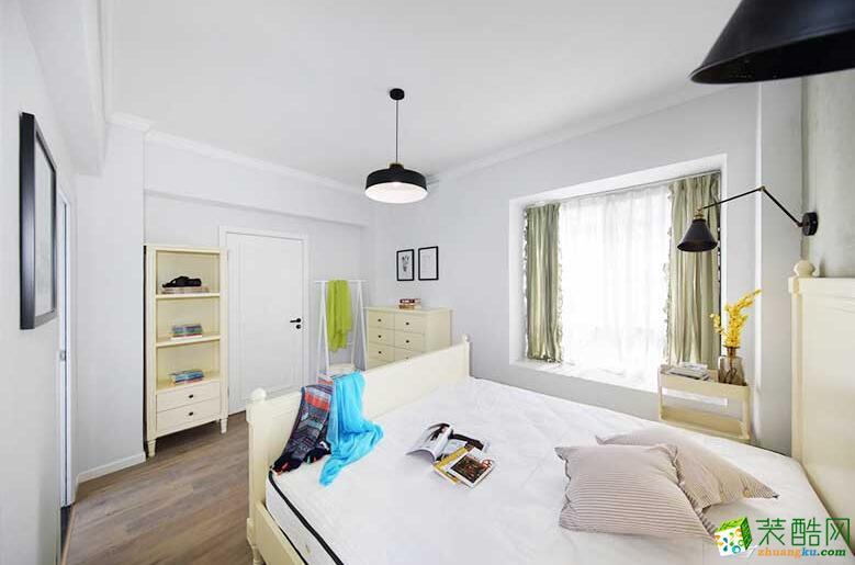 成都大晶装饰-86平米简约风两居室装修案例图