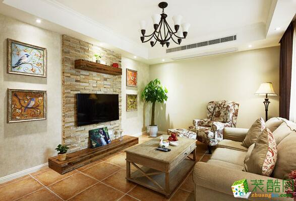 欧一特装饰-现代风格两居室85喷你装修拉图