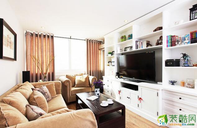 欧一特装饰-美式风格两居室85平米装修案例图
