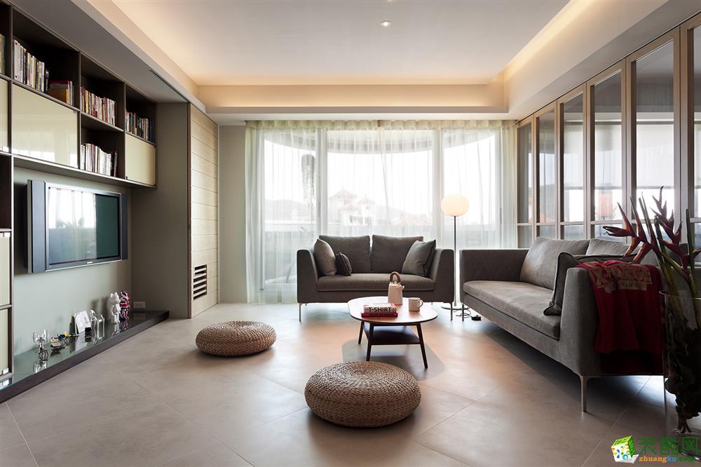 164平中式风四室大户型装修设计样板间