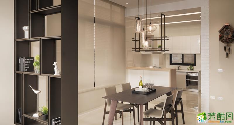 【至简装饰】―132平米三室一厅现代简约风格装修案例图