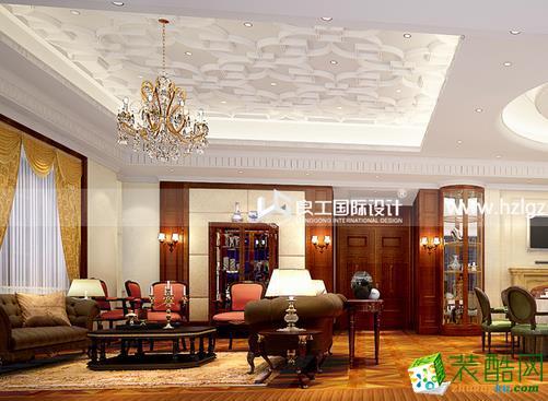 良工装饰-560平欧式酒店装修效果图