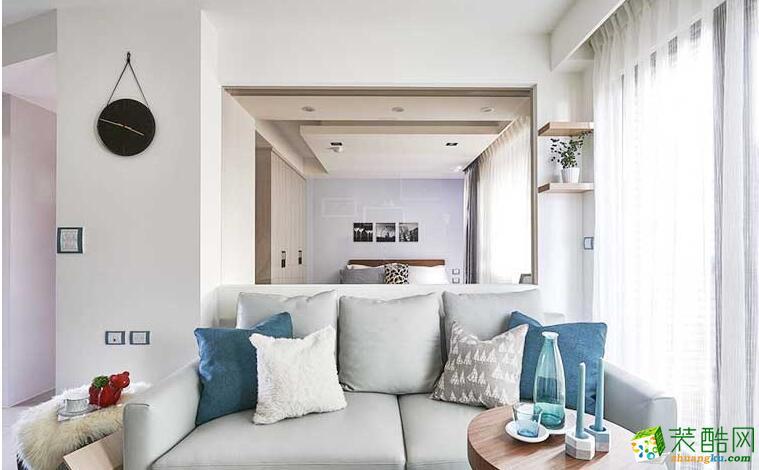 成都居美家装饰-69平米北欧风格两居室装修案例