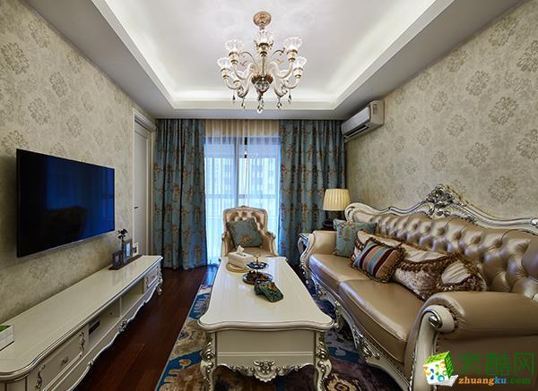 至美装饰-131平欧式三居室装修效果图