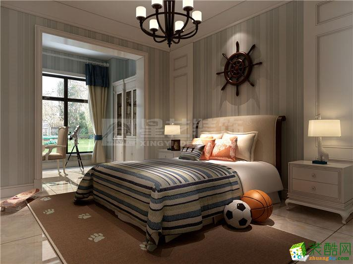 天津星艺装饰―亚泰津澜300平米欧式风格装修案例图
