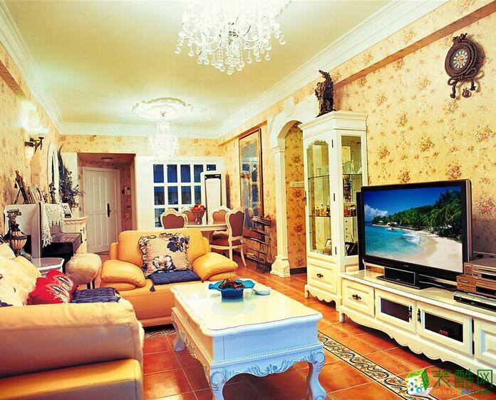 欧居尚装饰-欧式风格两居室装修案例