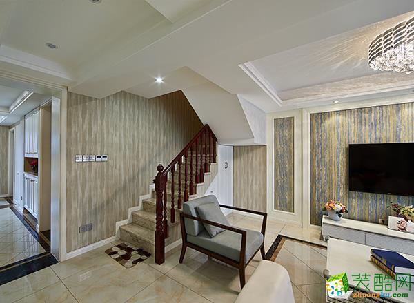 至美焕新―152平米现代简约三居室装修效果图