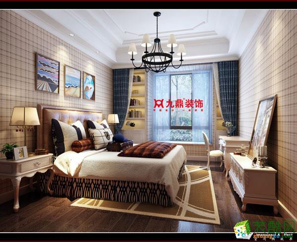 九鼎装饰―280平米中式风格别墅装修效果图