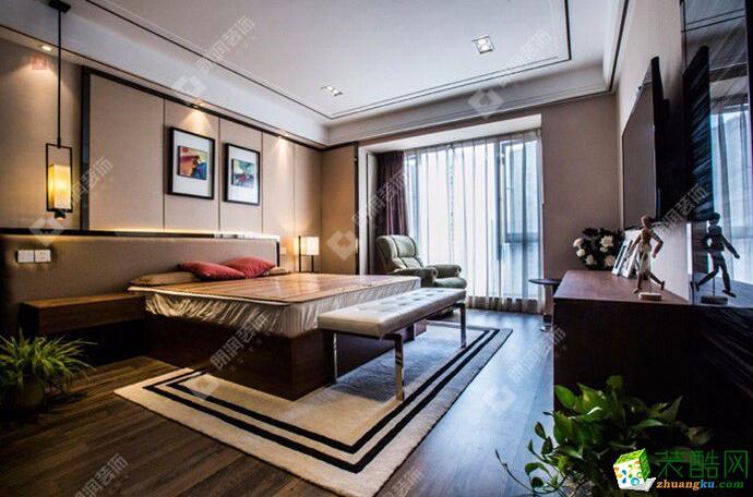朗润装饰-120平米港式风格四居室装修案例图