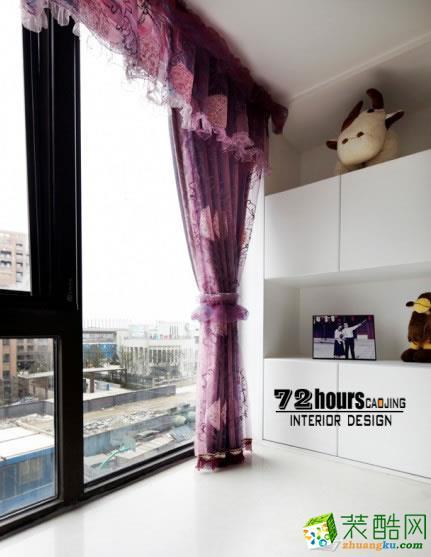 奥林装饰―89平米三室现代简约风格装修效果图