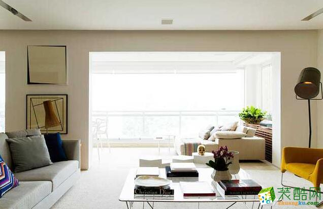 九润装饰-140平米北欧风格三居室装修案例