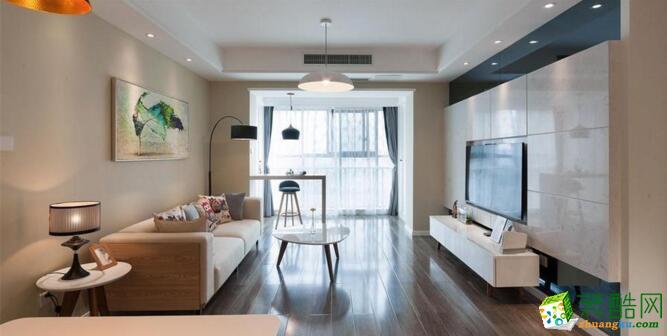 德发装饰-74平米两居室简约风格现在案例图