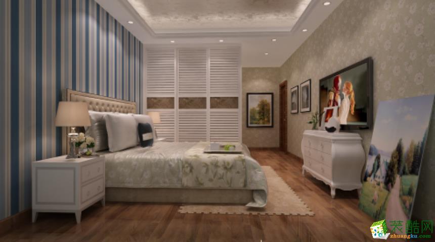 合建志洋―三室两厅园风格133�O装修效果图