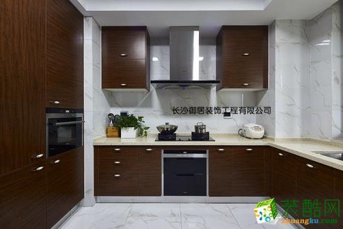 长沙御居装饰-160平湘域熙岸中式风格装修效果图