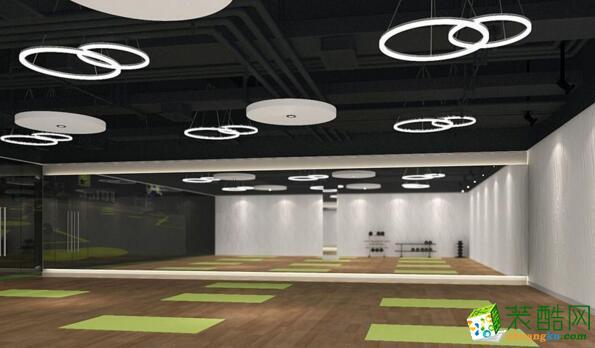大厅  南乔装饰-1400平米健身房装修案例图