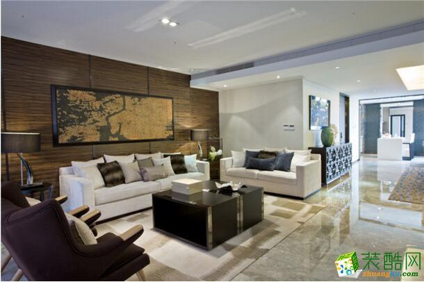 典匠装饰-113平米东南亚风格三居室装修案例