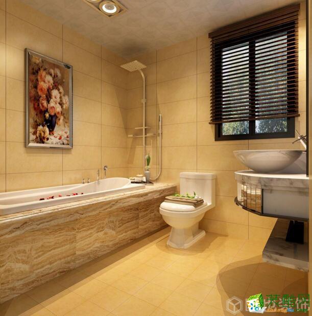 欧也装饰-融汇温泉城100平米简约风格装饰案例图