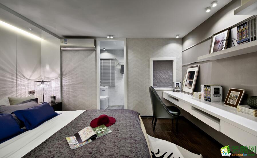 欧居尚装饰-简约风格两居室85平米装修案例图