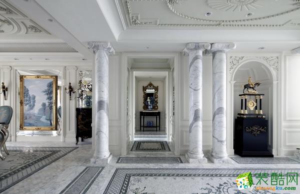 喜支支装饰―西溪坤和里143平米欧式风格装修效果图