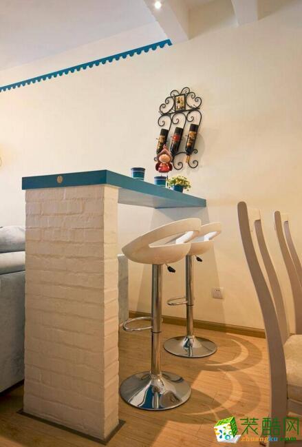 大晶装饰-80平米三居室地中海风格装修案例图