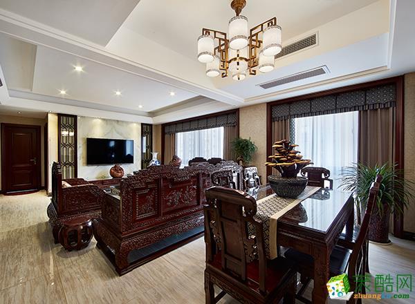 至美焕新装饰―中式古典三居室