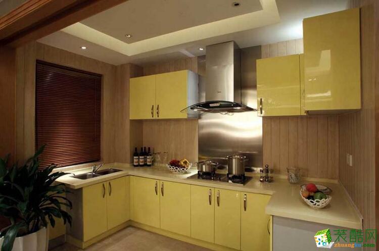火龙果装饰-160平米四居室混搭风格装修案例图