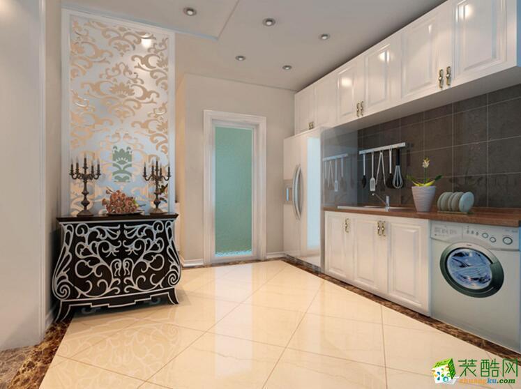 天地和装饰-270平米简欧风格跃层住宅装修案例图