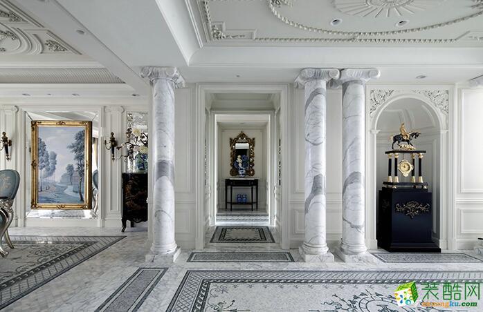 火龙果装饰-179平米新古典风格跃层住宅装修案例图