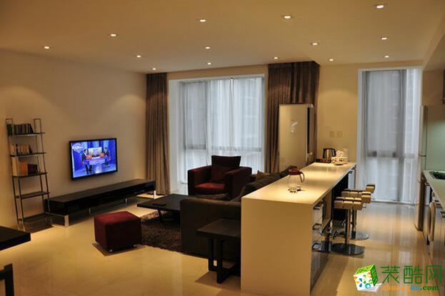 塞纳春天装饰-100平米简约风格跃层住宅装修案例图